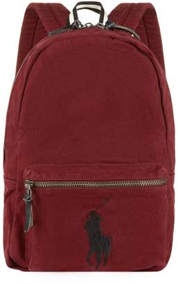 Polo Ralph Lauren Canvas Big Pony Backpack