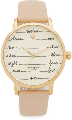 Kate Spade New York Metro Watch $195 thestylecure.com