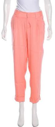 Alice + Olivia Silk High-Rise Pants w/ Tags