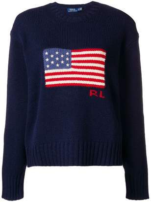 Polo Ralph Lauren American flag jumper