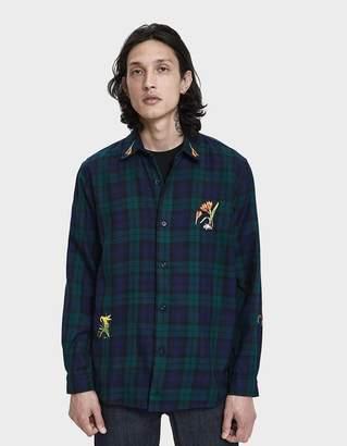 Bruta Button Up Botany Classic Shirt in Cotton Poplin