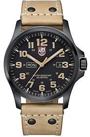 Luminox Men's Atacama Field Day Brown Leather Watch