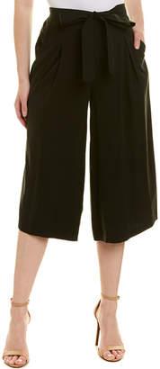 BCBGMAXAZRIA Tie-Waist Wide Leg Pant