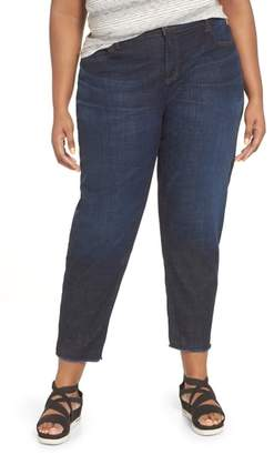 Eileen Fisher Straight Leg Ankle Jeans