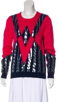 Kenzo Long Sleeve Wool Sweater