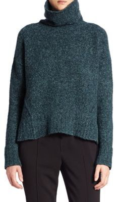 Brochu Walker Oban Castle Felt Turtleneck Sweater $428 thestylecure.com