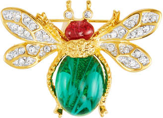 Kenneth Jay Lane Crystal Bee Pin
