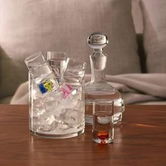 Element Set of 6 Glass Liquor Set with Shot Glasses