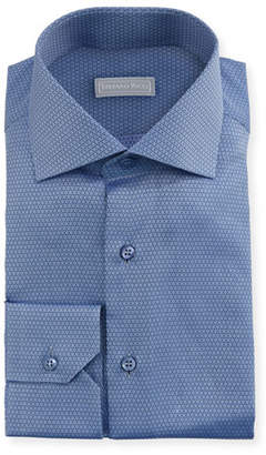 Stefano Ricci Small Neat Woven Dress Shirt