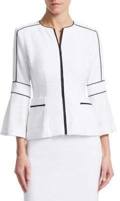 Nanette Lepore Jazz Zip-Front Jacket
