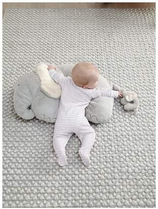 Mamas and Papas Elephant & Baby Tummy Time Snugglerug