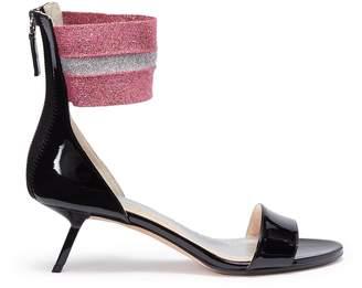 Ballin Alchimia di 'Alaya' slanted heel ankle band patent leather sandals