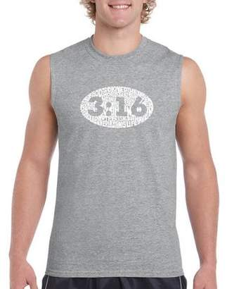 Pop Culture Big Men's Sleeveless T-Shirt - John 3:16