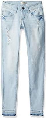 YMI Jeanswear Women's Love Anklet with Release Hem