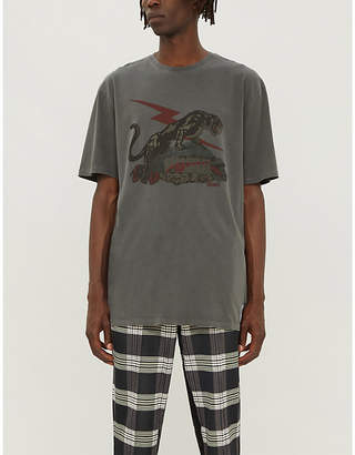 Puma x Rhude graphic-print regular-fit cotton-jersey T-shirt