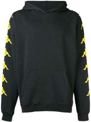 Kappa DANILO PAURA X logo sleeve hoodie