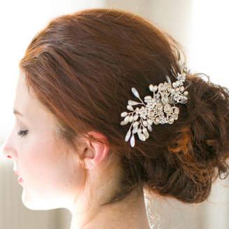 Victoria Millesime Pearl Blossom Sparkle Bridal Hair Comb