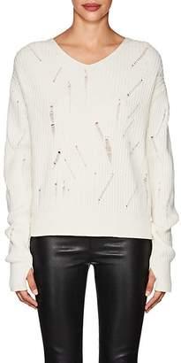 Sale Footlocker Womens Brushed Knit Merino Wool-Blend Sweater Helmut Lang New Arrival Online MHSat