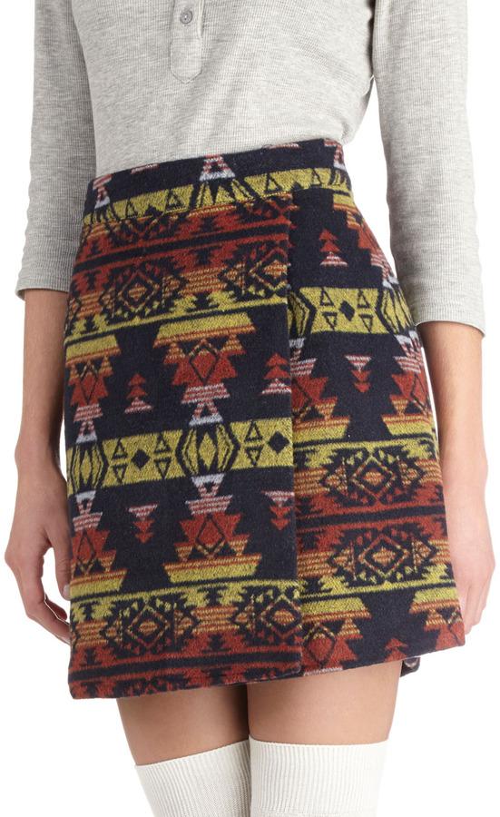 Cactus Garden Skirt