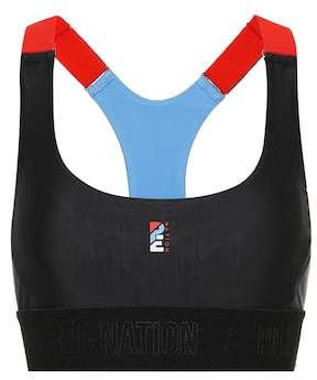 P.E Nation Forecourt Crop sports bra