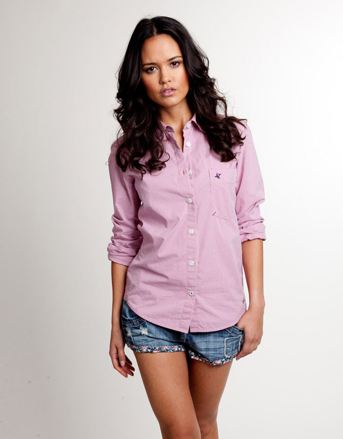 Soul Cal Deluxe Gingham Western Shirt