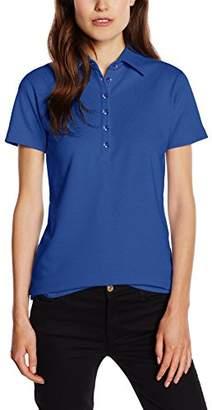 BlueBlack Women's Ella Short Sleeve Polo Shirt,(Manufacturer Size: XXL)