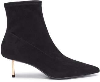 Stella Luna Pin heel suede ankle boots