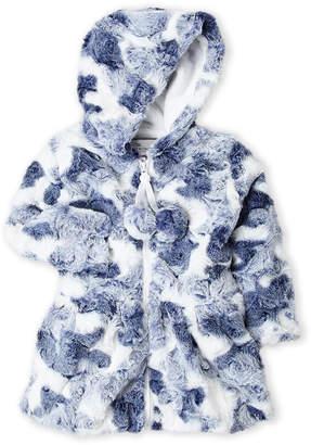 American Widgeon (Toddler Girls) Faux Fur Hooded Coat