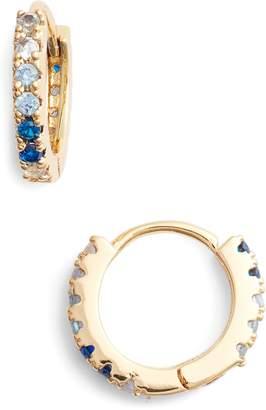 Lulu DK Ombre Huggie Hoop Earrings
