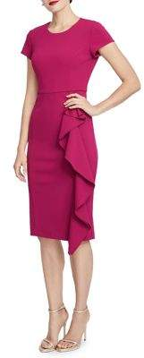 Rachel Roy Cascade Sheath Dress