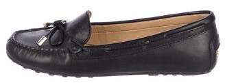 MICHAEL Michael Kors Leather Round-Toe Loafers