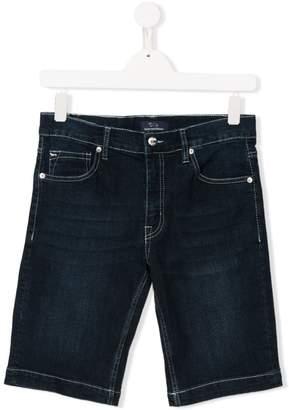 Harmont & Blaine Junior TEEN slim-fit denim shorts
