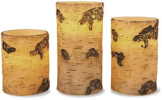 APOTHECARY Apothecary Birch 3-pc. Flameless Candle