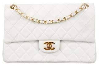 Chanel Classic Medium Double Flap Bag White Classic Medium Double Flap Bag