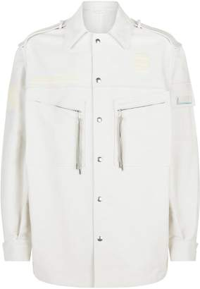 Lanvin Longline Workwear Jacket