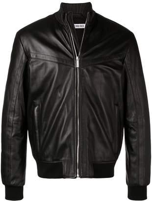Dirk Bikkembergs zipped-up bomber jacket