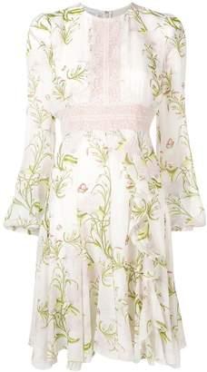 Giambattista Valli Leaf print dress
