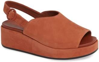 70aff126488 Camper Misia Slingback Platform Wedge Sandal