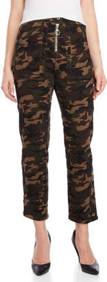 Dance & Marvel Camo Twill Utility Pants