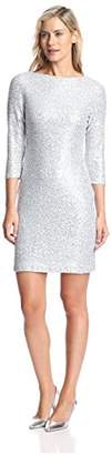 Julia Jordan Women's Sequined Sheath Dress $66.52 thestylecure.com