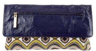 Tory Burch Printed Flap Clutch
