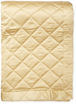 Ann Gish Silk Big Diamond Coverlet