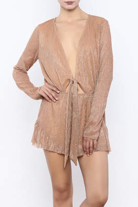Cotton Candy It's My Party Romper $64 thestylecure.com
