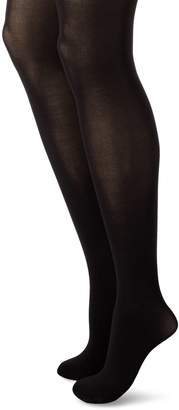 Hanes Women's Powershapers Firm Control High Waist Opaque Tights