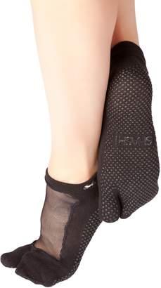 Shashi Mesh Non Slip Split Toe Ergonomic Socks Pilates Barre Ballet Yoga Dance