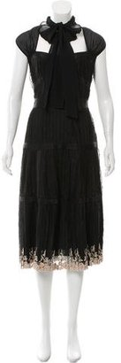 La Perla Embroidered Evening Dress $895 thestylecure.com