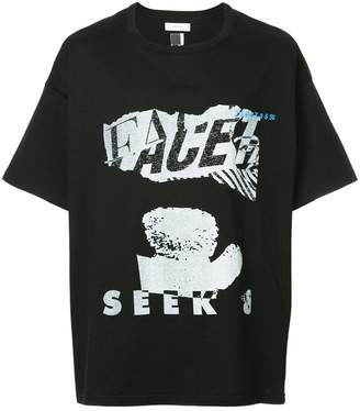 Facetasm プリント Tシャツ