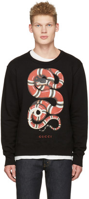 Gucci Black Snake Pullover $780 thestylecure.com