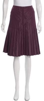 Zac Posen Silk-Blend Skirt