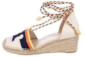 Tory Burch Espadrille Wedge Sandals